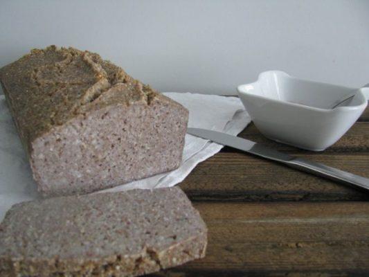 Chleb bezglutenowy z kaszy gryczanej