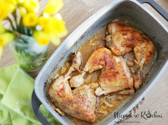 Pieczone udka kurczaka
