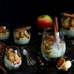kasza jaglana z karmelizowanym jabłkiem