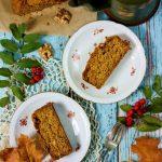Szybkie ciasto z dyni bezglutenowe i wegańskie