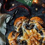 Ciasto drożdżowe gwiazda drożdżowa z makiem