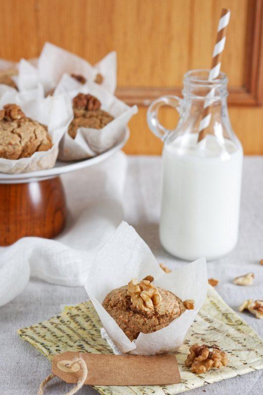 Muffinki marchewkowe bezglutenowe i wegańskie