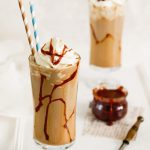 Karmelowa kawa Inka malowana solonym karmelem
