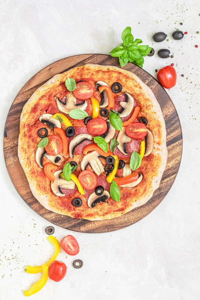 pizza bezglutenowa przepis