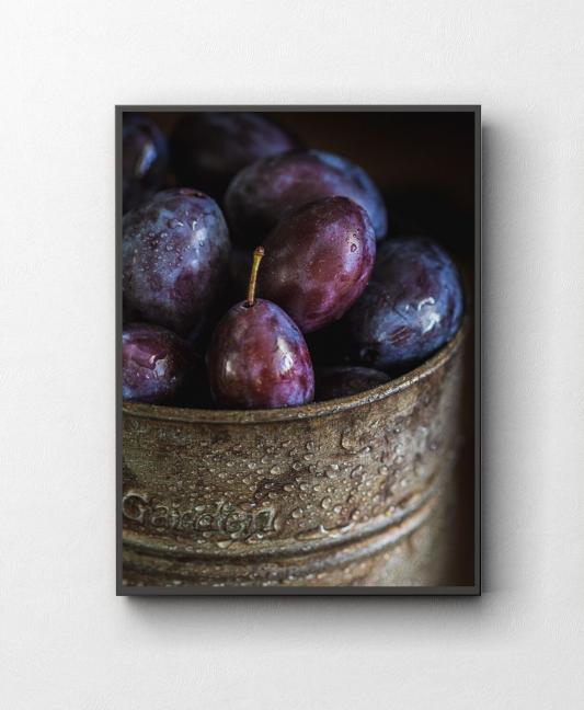 Plakaty do kuchni Wydruk Fine Art Fotografia kulinarna