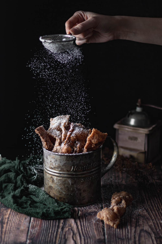 Faworki bezglutenowe i wegańskie