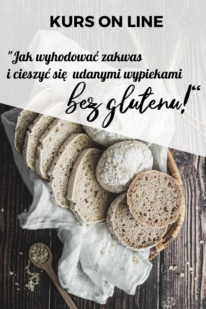 Jak wyhodować zakwas bezglutenowy i upiec chleb na zakwasie